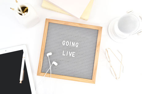 Tips for Going Live on Social Media for Wedding and Event Industry