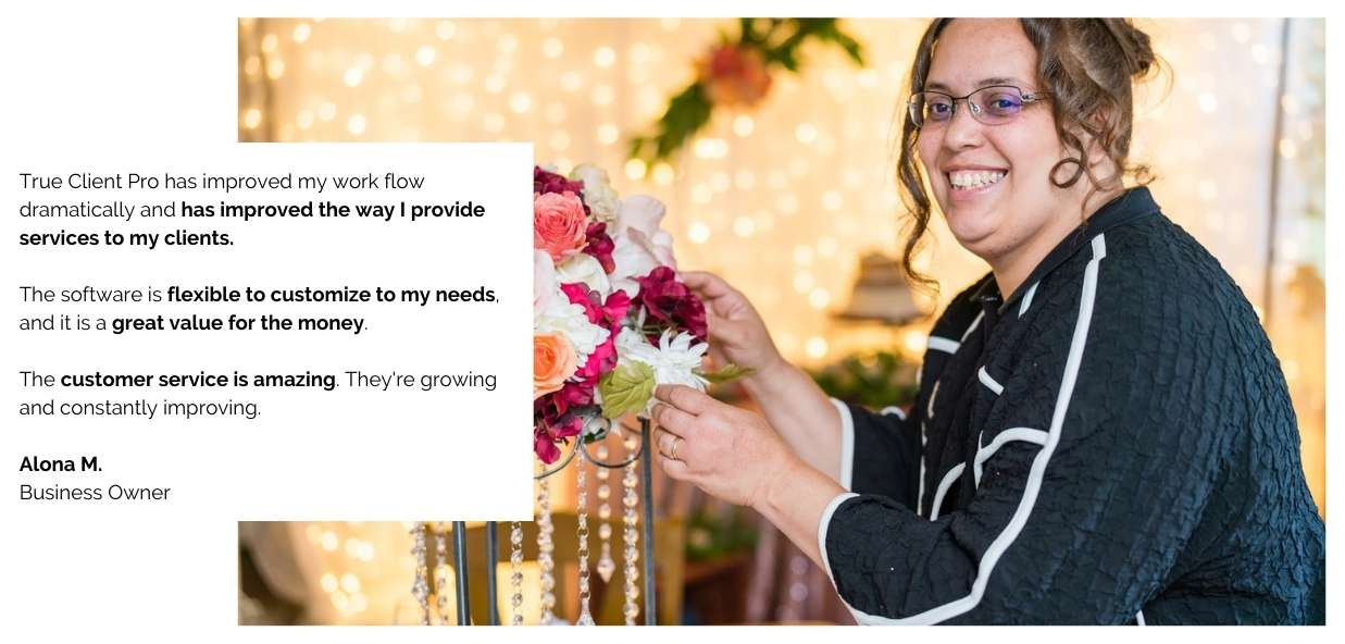 CRM software for wedding professional to automate your client management