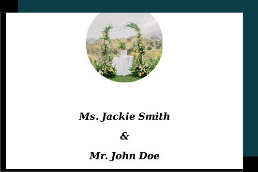 Customizable wedding planner templates