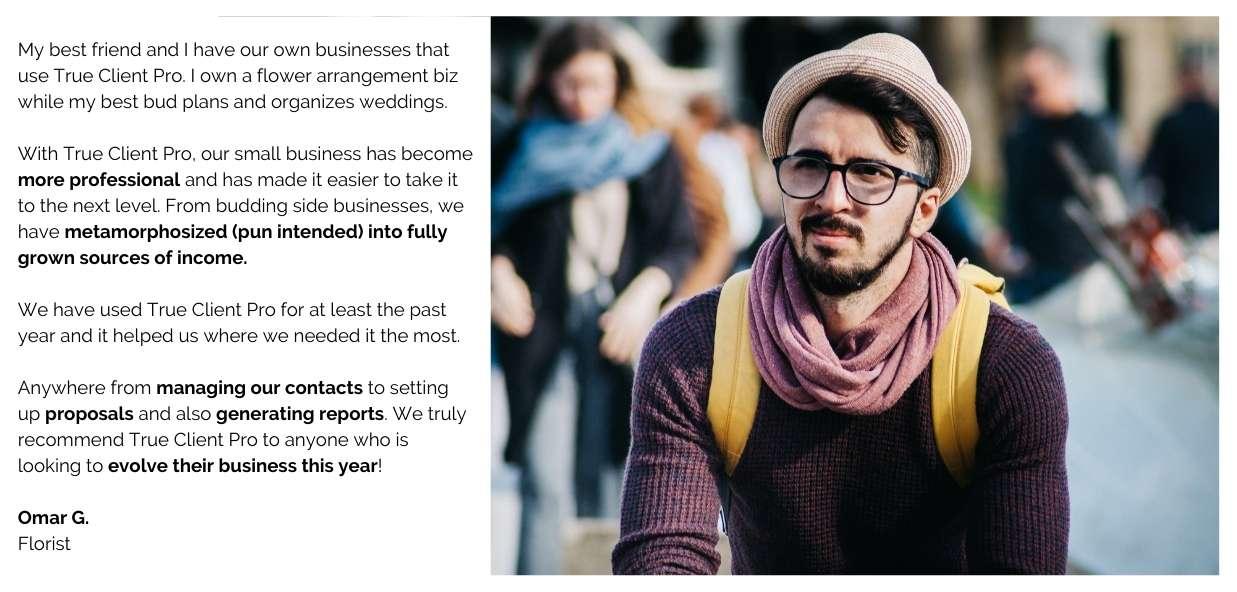 Business development management platform for wedding planners